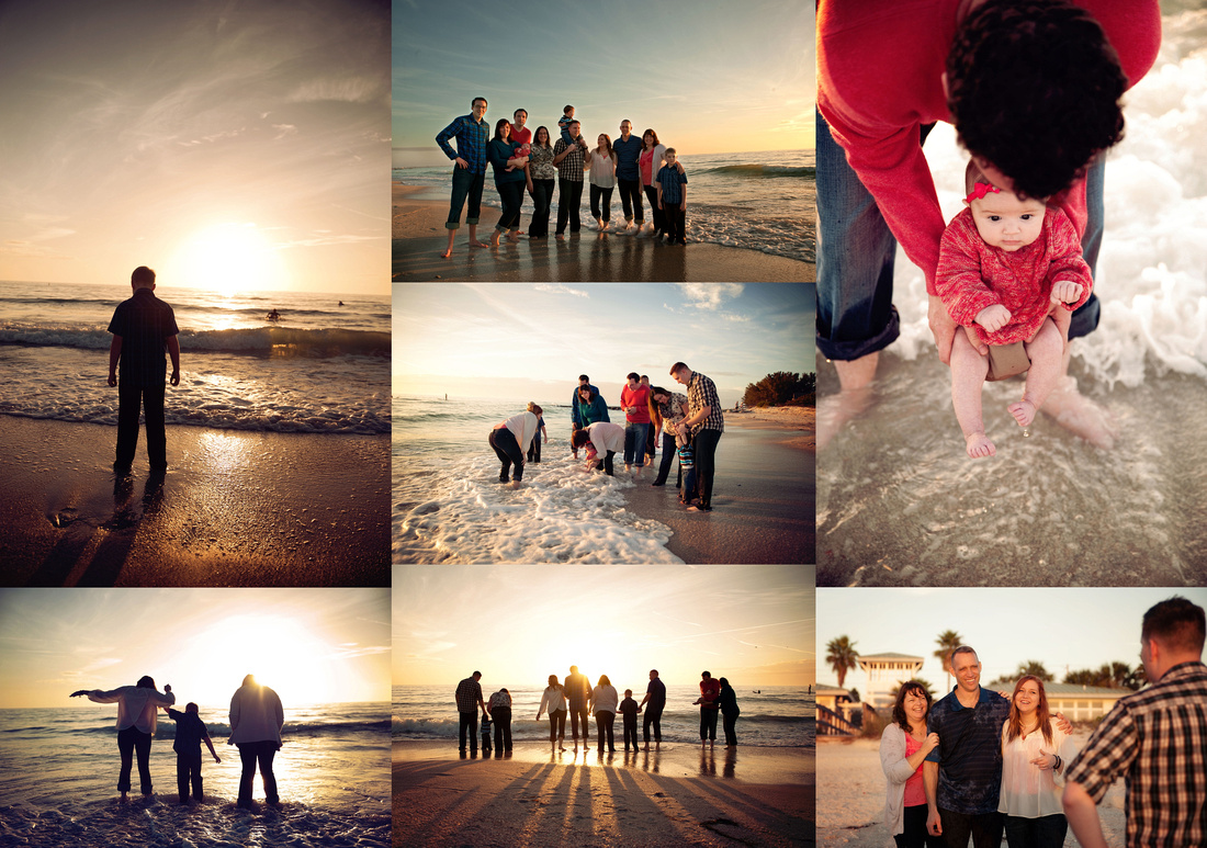 St Pete beach portraits