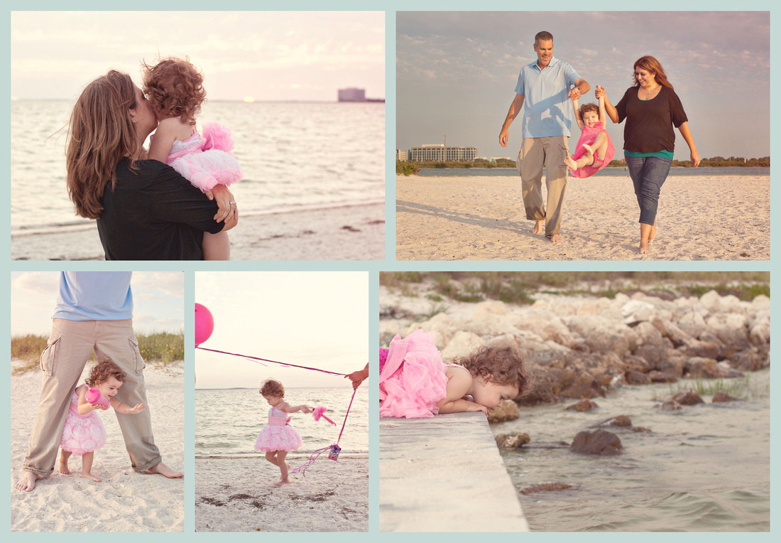 beach family session